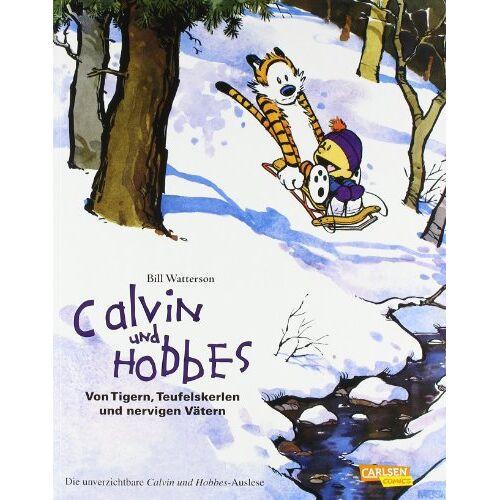 Bill Watterson - Calvin und Hobbes: Sammelband 2: Von Tigern, Teufelskerlen und nervigen Vätern - Preis vom 08.05.2021 04:52:27 h