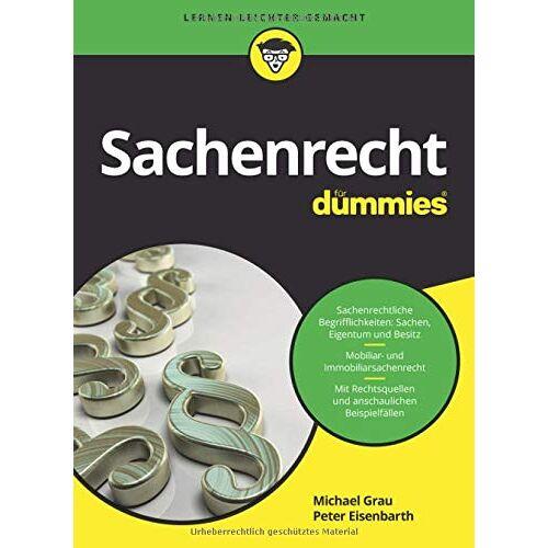 Peter Eisenbarth - Sachenrecht für Dummies - Preis vom 28.09.2020 04:48:40 h