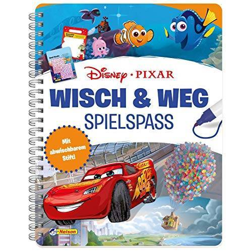 - Disney Pixar: Wisch & Weg: Buch mit abwischbaren Seiten und Stift - Preis vom 18.04.2021 04:52:10 h