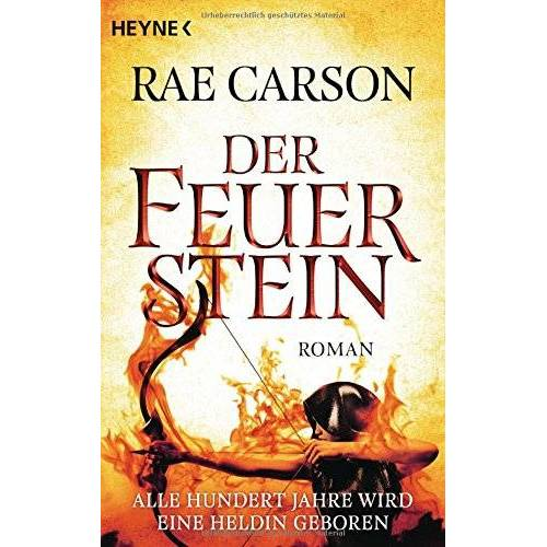 Rae Carson - Der Feuerstein: Roman - Preis vom 16.05.2021 04:43:40 h