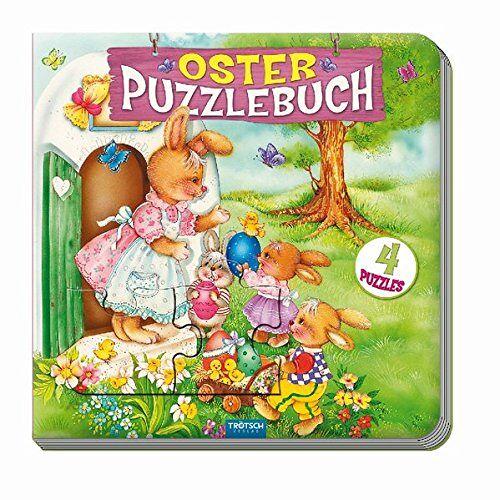 - Oster-Puzzlebuch mit 4 Puzzles - Preis vom 28.02.2021 06:03:40 h