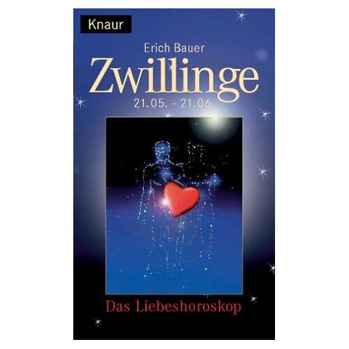 Erich Bauer - Liebeshoroskop. Zwillinge - Preis vom 05.09.2020 04:49:05 h
