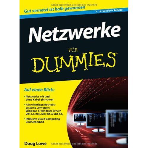 Doug Lowe - Netzwerke für Dummies (Fur Dummies) - Preis vom 07.08.2020 04:56:28 h
