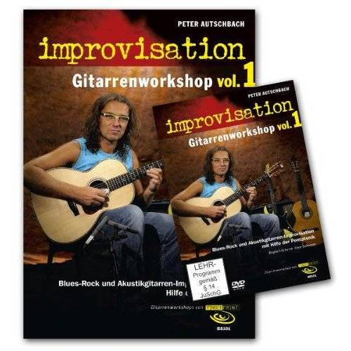 Peter Autschbach - Improvisation - Gitarrenworkshop Vol. 1, m. DVD - Preis vom 17.04.2021 04:51:59 h
