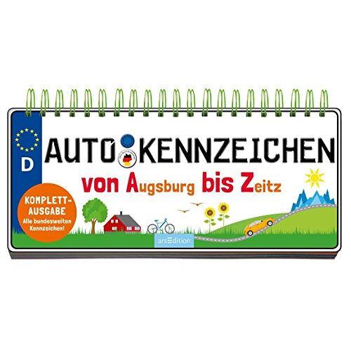 Annette Maas - Autokennzeichen: Von Augsburg bis Zeitz - Preis vom 05.05.2021 04:54:13 h