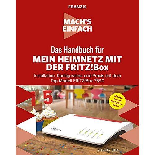 Stephan Brey - FRANZIS Mach's einfach: Mein Heimnetzwerk mit der Fritz!Box - Preis vom 17.01.2020 05:59:15 h