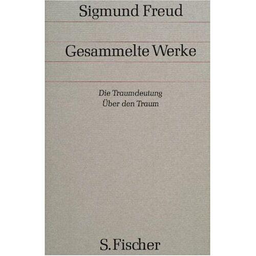Sigmund Freud - Band 2/3: Die Traumdeutung / Über den Traum: Bd. 2/3 - Preis vom 12.04.2021 04:50:28 h