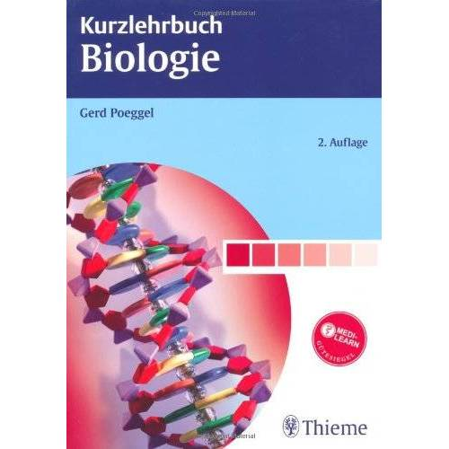 Gerd Poeggel - Kurzlehrbuch Biologie - Preis vom 01.03.2021 06:00:22 h