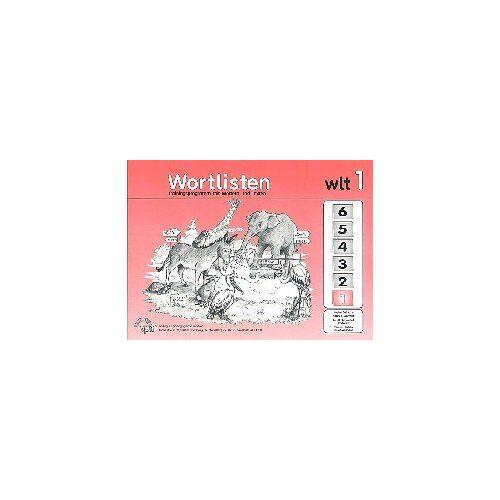 Heiko Balhorn - Wortlisten-Trainingsprogramm 1-6. Trainingsprogramm mit Wörtern und Texten: Wortlisten, wlt, 1. Schuljahr - Preis vom 06.09.2020 04:54:28 h