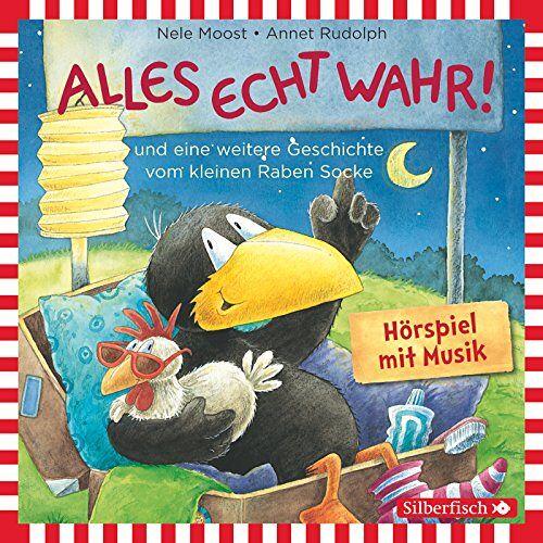 Nele Moost - Alles echt wahr!: und eine weitere Geschichte vom kleinen Raben Socke: 1 CD (Kleiner Rabe Socke) - Preis vom 15.04.2021 04:51:42 h