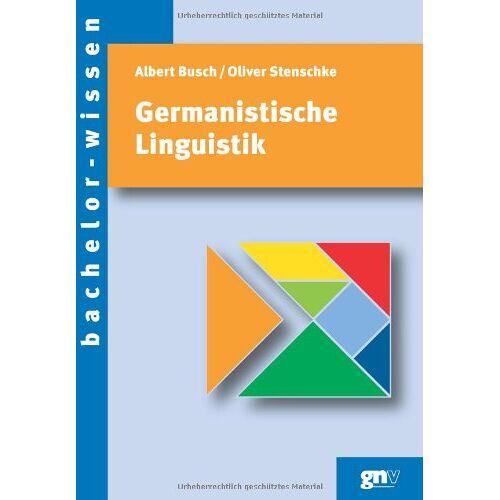 Albert Busch - Germanistische Linguistik. Eine Einführung - Preis vom 07.05.2021 04:52:30 h