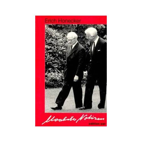 Erich Honecker - Moabiter Notizen - Preis vom 09.04.2021 04:50:04 h