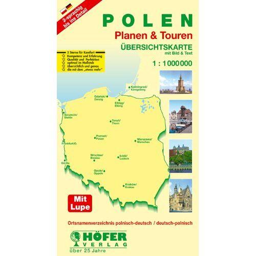 Klaus Höfer - Höfer Straßenkarten, Polen - Preis vom 09.04.2021 04:50:04 h