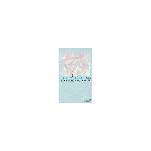 Peter Härtling - Ein Balkon aus Papier: Gedichte - Preis vom 21.10.2020 04:49:09 h