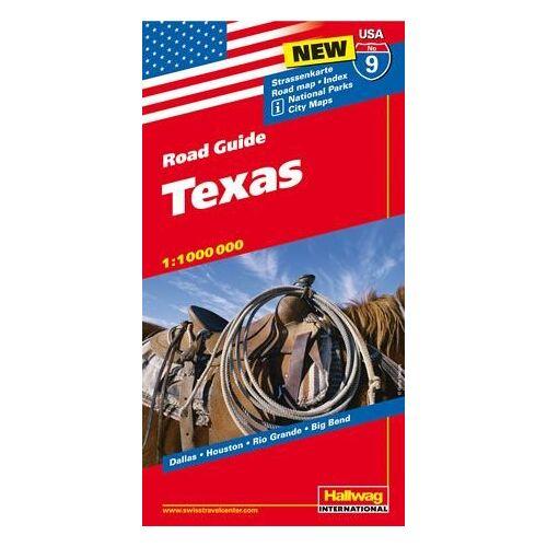 Hallwag - Hallwag USA Road Guide 09 Texas 1 : 1.000.000 - Preis vom 28.02.2021 06:03:40 h