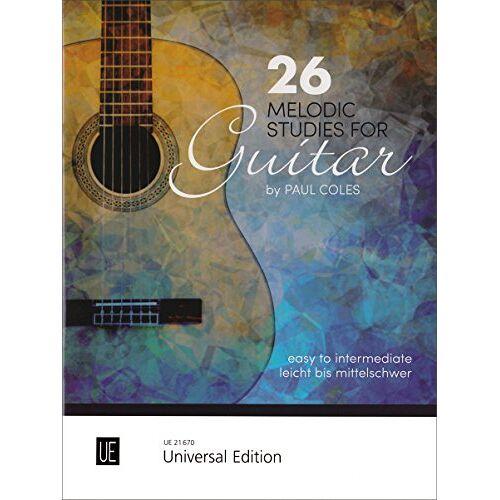 Paul Coles - 26 Melodic Studies, für Gitarre - Preis vom 21.10.2020 04:49:09 h