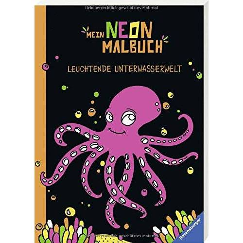- Mein Neon-Malbuch: Leuchtende Unterwasserwelt - Preis vom 26.01.2020 05:58:29 h