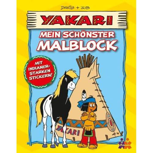 Derib - Yakari: Mein schönster Malblock - Preis vom 08.11.2019 05:55:38 h