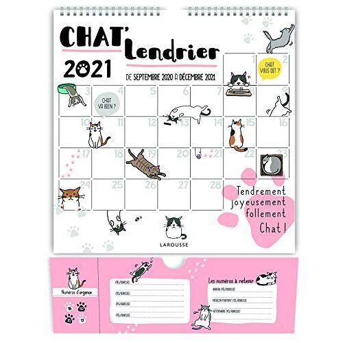 - Chat'lendrier 2021 (LA.CALENDRIER) - Preis vom 16.01.2021 06:04:45 h