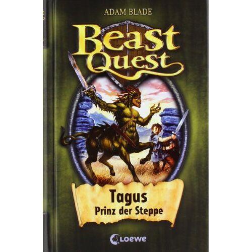 Adam Blade - Beast Quest 04. Tagus, Prinz der Steppe - Preis vom 12.04.2021 04:50:28 h