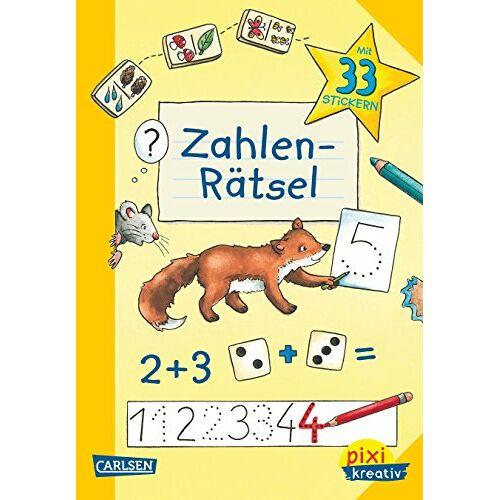 Katja Kiefer - Pixi kreativ 83: Zahlen-Rätsel: Lernspiele für den Schulanfang - Preis vom 13.05.2021 04:51:36 h