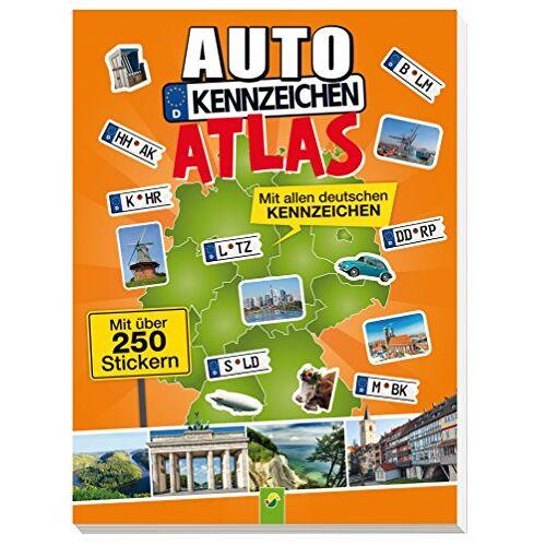 - Autokennzeichenatlas mit über 250 Stickern: Mit allen deutschen Kennzeichen - Preis vom 05.09.2020 04:49:05 h