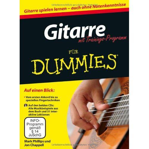 Philips Gitarre für Dummies mit Trainings-Programm (Fur Dummies) - Preis vom 21.10.2020 04:49:09 h