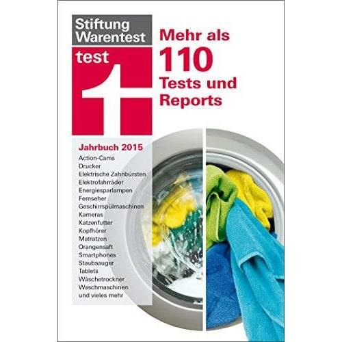 Stiftung Warentest - test Jahrbuch 2015: Mehr als 110 Tests und Reports - Preis vom 25.01.2021 05:57:21 h
