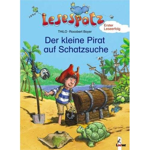 THiLO - Lesespatz. Der kleine Pirat auf Schatzsuche - Preis vom 06.03.2021 05:55:44 h
