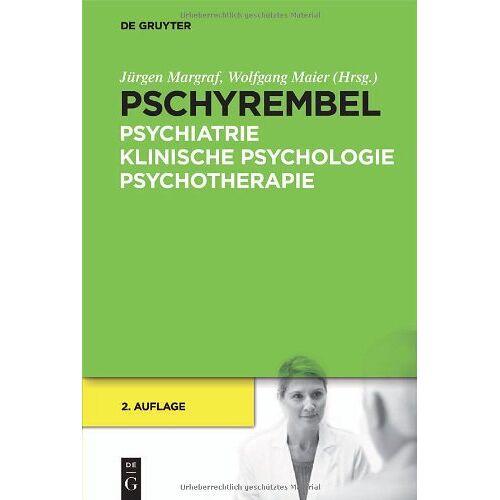 Jürgen Margraf - Pschyrembel Psychiatrie, Klinische Psychologie, Psychotherapie - Preis vom 11.05.2021 04:49:30 h