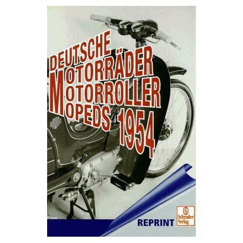 - Deutsche Motorräder, Motorroller, Mopeds 1954 - Preis vom 14.01.2021 05:56:14 h