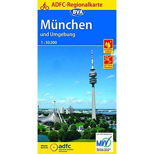 Allgemeiner Deutscher Fahrrad-Club e.V. (ADFC) - ADFC-Regionalkarte München und Umgebung, 1:75.000, reiß- und wetterfest, GPS-Tracks Download (ADFC-Regionalkarte 1:75000) - Preis vom 09.04.2021 04:50:04 h