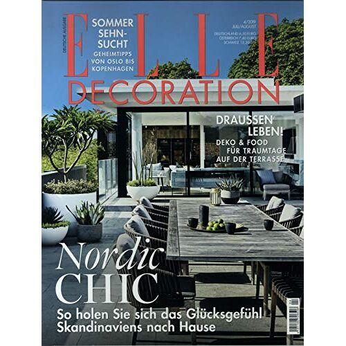 Elle Decoration - Elle Decoration 4/2019 Nordic Chic - Preis vom 05.09.2020 04:49:05 h