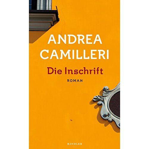 Andrea Camilleri - Die Inschrift - Preis vom 14.04.2021 04:53:30 h