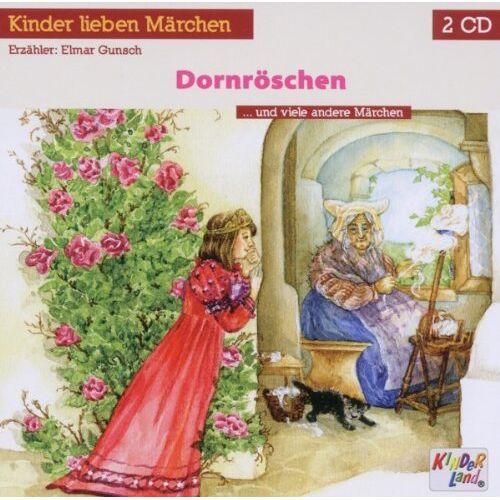 Kinderland - Dornröschen, 2 Audio-CDs - Preis vom 05.09.2020 04:49:05 h