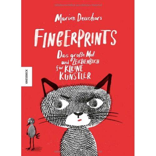 Marion Deuchars - Fingerprints: Das große Mal- und Zeichenbuch für kleine Künstler - Preis vom 06.04.2020 04:59:29 h