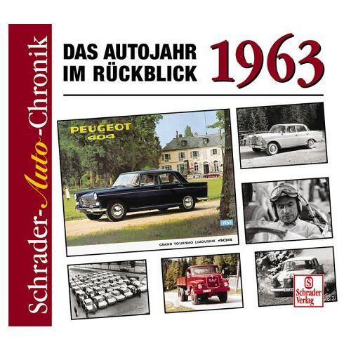 Halwart Schrader - 1963 - Das Autojahr im Rückblick - Preis vom 17.04.2021 04:51:59 h
