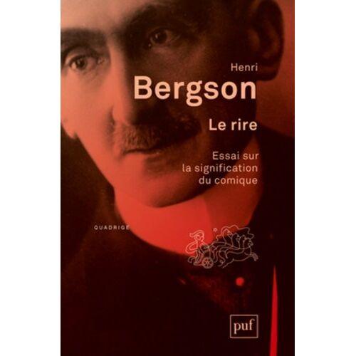 Henri Bergson - Le rire - Preis vom 16.01.2021 06:04:45 h
