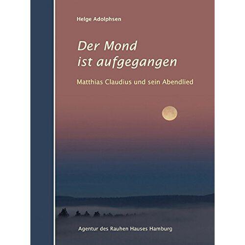 Helge Adolphsen - Der Mond ist aufgegangen - Preis vom 08.05.2021 04:52:27 h