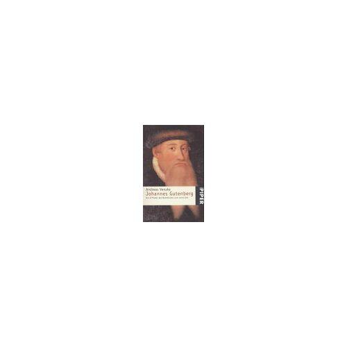 Andreas Venzke - Johannes Gutenberg. Der Erfinder des Buchdrucks und seine Zeit. - Preis vom 15.05.2021 04:43:31 h