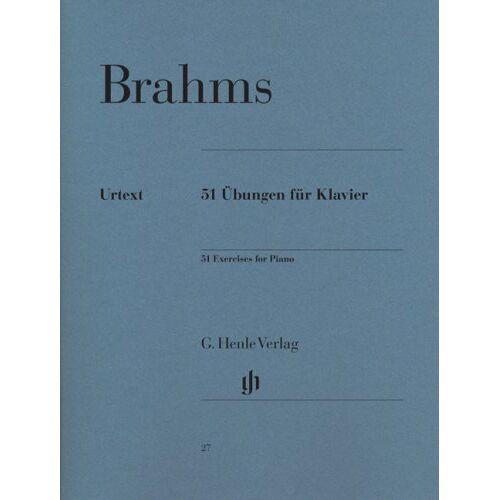 Brahms - 51 Übungen für Klavier - Preis vom 20.10.2020 04:55:35 h
