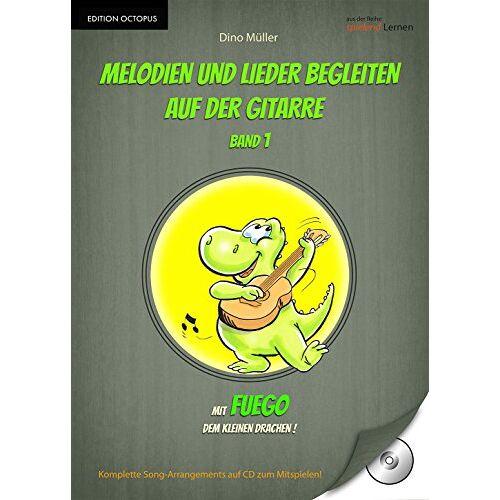 Dino Müller - Melodien und Lieder begleiten auf der Gitarre, Band 1 - Preis vom 20.10.2020 04:55:35 h