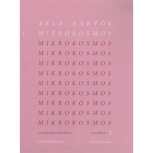 - Mikrokosmos: 153 Klavierstücke, vom allerersten Anfang an. Vol. 1. Klavier. - Preis vom 21.10.2020 04:49:09 h