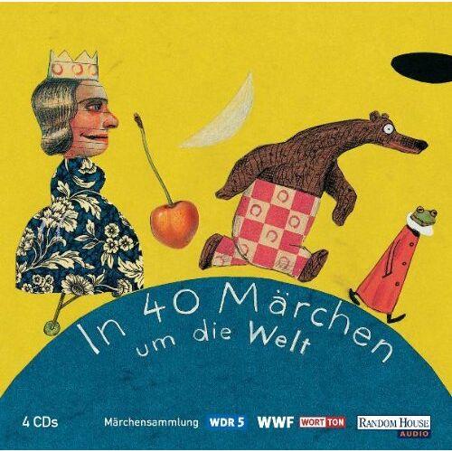 Various - WDR Märchenmarathon - In 40 Märchen um die Welt: Hörspiel: Märchensammlung. Aus der Märchenschatztruhe von WDR 5 - Preis vom 18.04.2021 04:52:10 h
