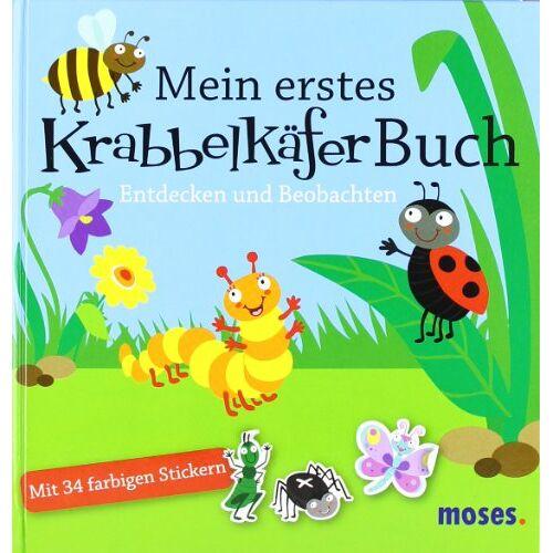 Bärbel Oftring - Mein erstes Krabbelkäfer-Buch: Entdecken und Beobachten - Preis vom 25.02.2021 06:08:03 h