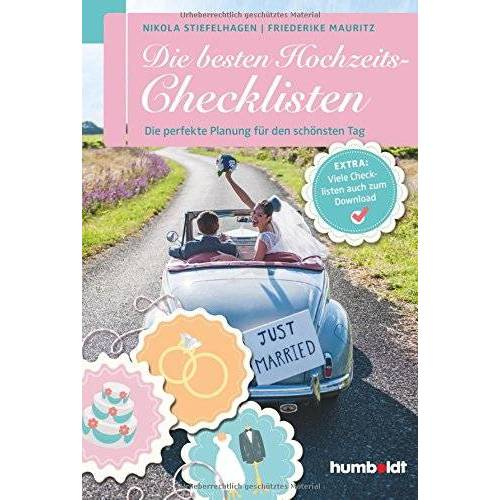 Nikola Stiefelhagen - Die besten Hochzeits-Checklisten - Preis vom 19.02.2020 05:56:11 h