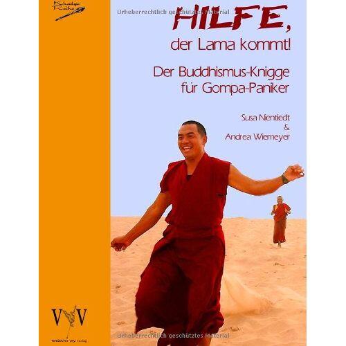 Susa Nientiedt - Hilfe, der Lama kommt! Der Buddhismus-Knigge für Gompa-Paniker - Preis vom 19.01.2021 06:03:31 h