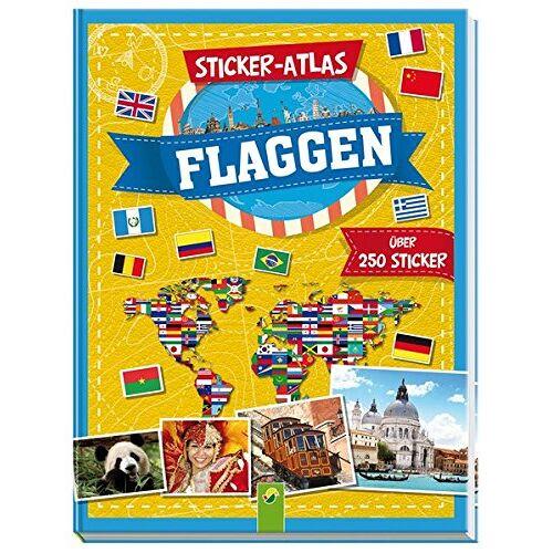 Carla Felgentreff - Sticker-Atlas Flaggen: Über 250 Sticker - Preis vom 04.09.2020 04:54:27 h