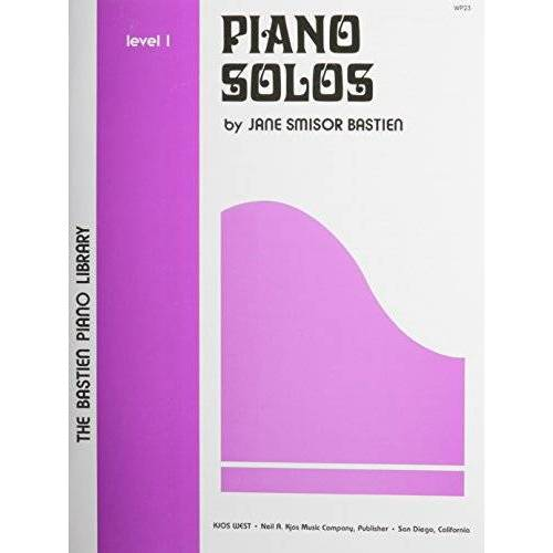 - Bastien Piano Library: Piano Solos Level 1: Noten für Klavier (The Bastien Piano Library) - Preis vom 21.10.2020 04:49:09 h