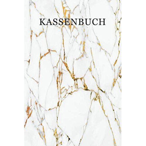 Premium Kassenbücher - Kassenbuch: Simples Kassenbuch für Selbstständige   DIN A5   Cover: Marmor/Weiss - Preis vom 21.10.2020 04:49:09 h